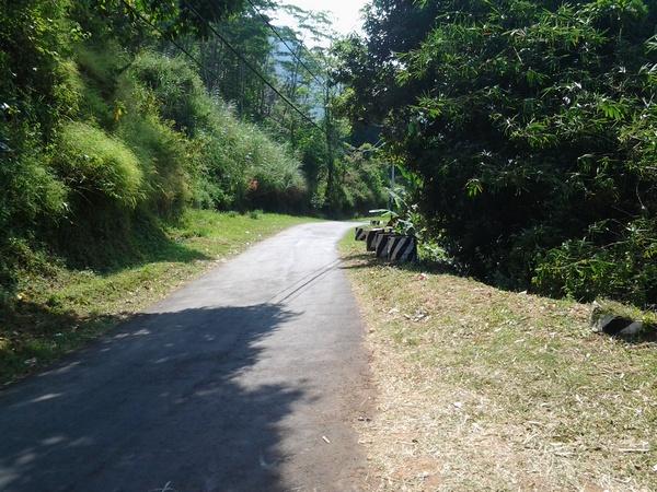 Akses jalan menuju PLTA Parakan Kondang