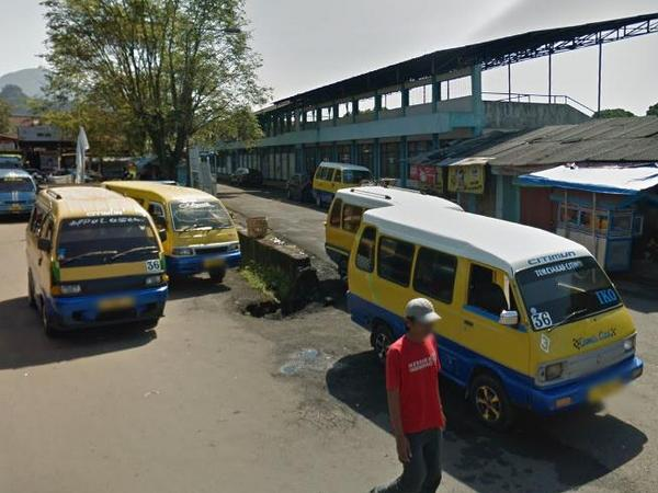 Trayek Angdes 36 Sumedang - Citimun (foto: Google Street View)
