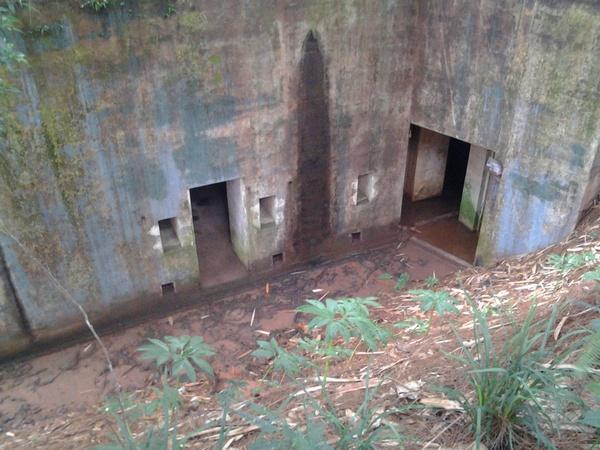 Bangunan benteng di lantai 3