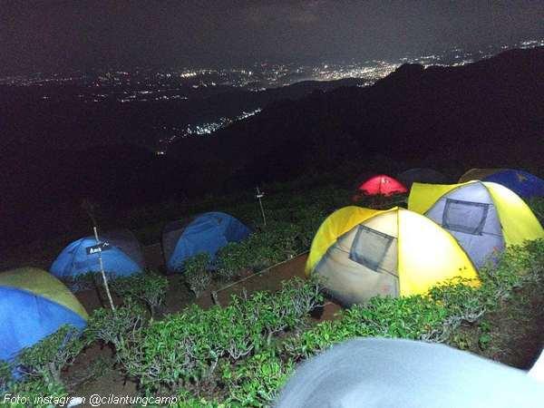 Berkemah (kemping) di Cilantung Camp