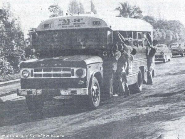 Bus Medal Sekarwangi 1969