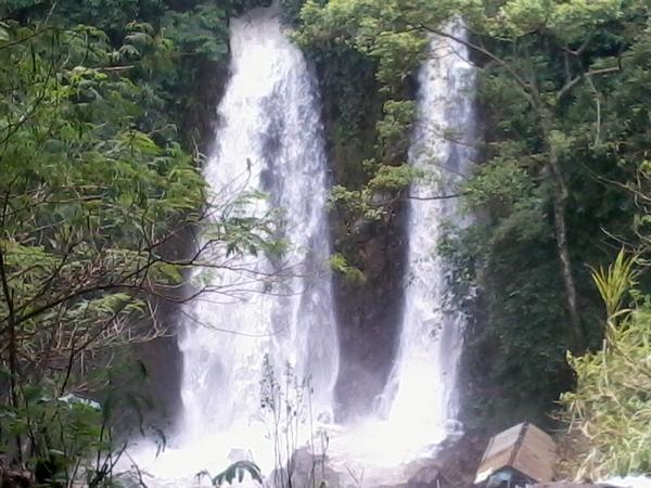Curug SIndulang, salah obyek wisata di Kecamatan Cimanggung