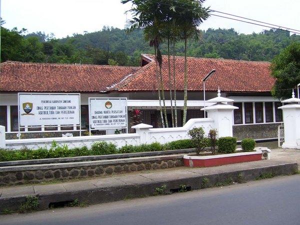 Kantor Dinas Pertanian Kabupaten Sumedang (sumber: BAPPEDA)
