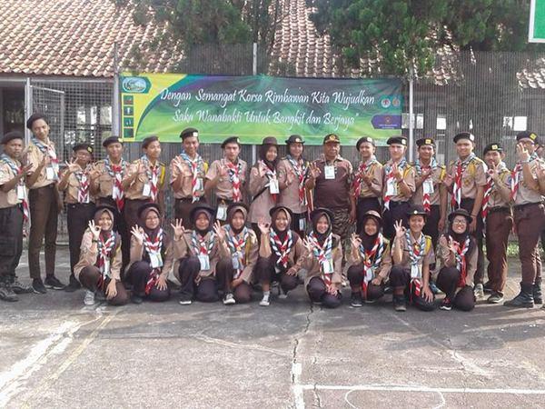 Ekstrakurikuler Pramuka (foto: facebook Deden Mocacinoo)