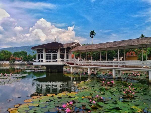 Indahnya alam di Empang (foto: instagram)