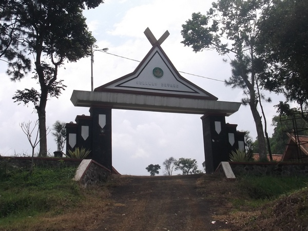 Gerbang Kawasan Wisata Panenjoan