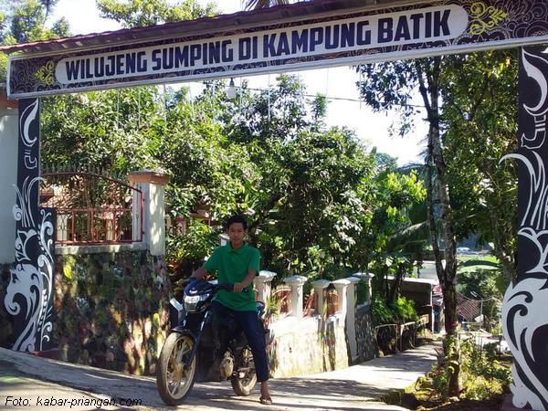 Gerbang masuk Kampung Batik