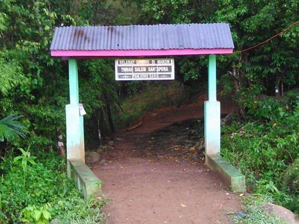 Gerbang masuk Situs Tanjungsari (foto: facebook)