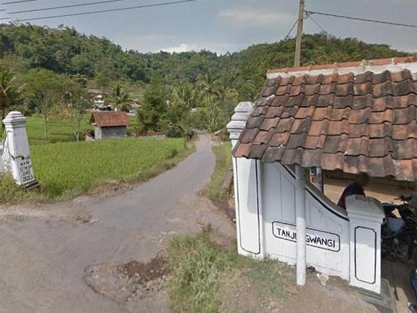 Gerbang Desa Tanjungwangi (foto: Google Street View)