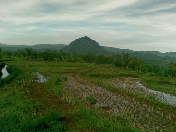 Gunung Geulis di Desa Kamal (foto: Abank Sumedang)