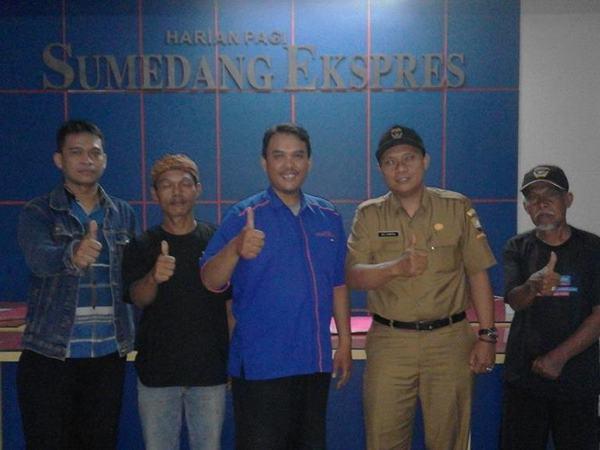 Kantor Harian Pagi Sumedang Ekspres (foto: facebook Sumedang Ekspres)