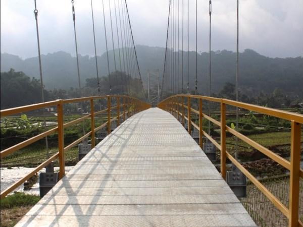 Jembatan gantung Panyindangan