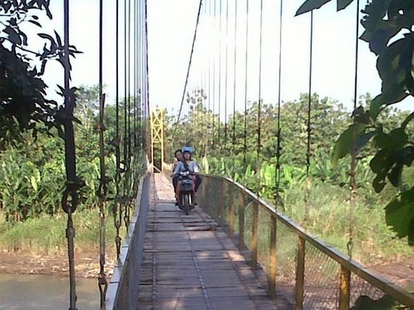 Jembatan gantung (foto: internet)