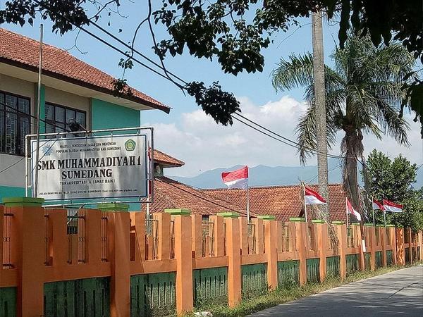 Kampus SMK Muhammadiyah 1 Sumedang
