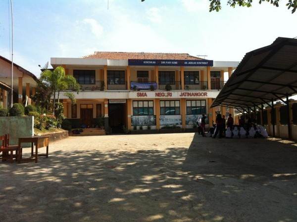 Kampus SMA Negeri Jatinangor (foto: SMAN Jatinangor)