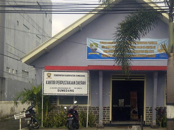 Kantor Perpustakaan Daerah Kabupaten Sumedang