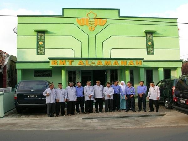 Kantor BMT Al-Amanah di Jalan Raya Situraja (foto: KJKS Teladan Banjarmasin)