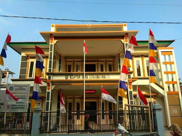 Kantor Desa Cipandanwangi (foto: facebook Desa Cipandanwangi)