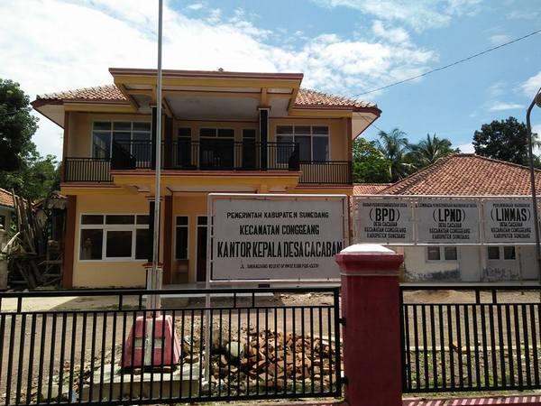 Kantor Desa Cacaban (foto: facebook Acep Komaruddin Hidayat Susanto)