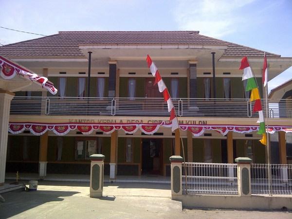 Kantor Desa Cibeureum Kulon (foto: Korsum)
