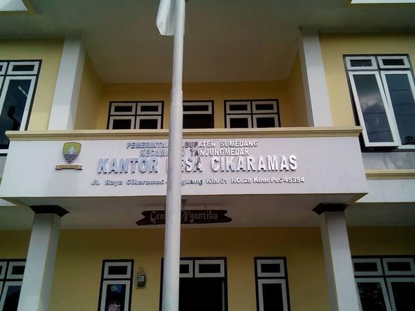 Kantor Desa Cikaramas (foto: facebook Uchie M Sanusi Rohendi)