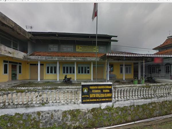 Kantor Desa Cilangkap (foto: Google Street View)