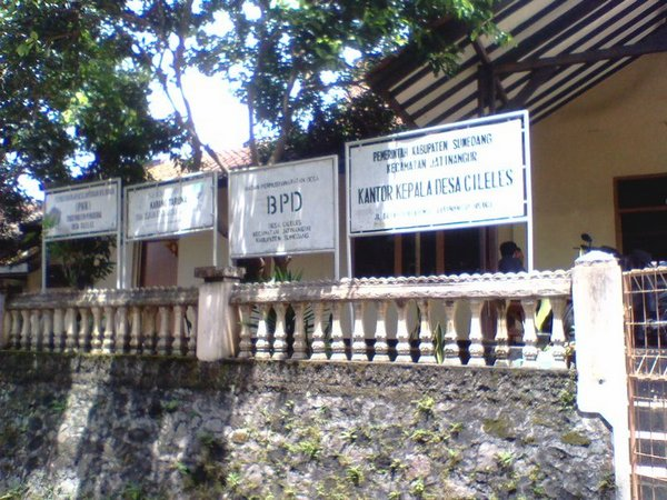 Kantor Desa Cileles (foto: facebook Pemerintah Desa Cileles)