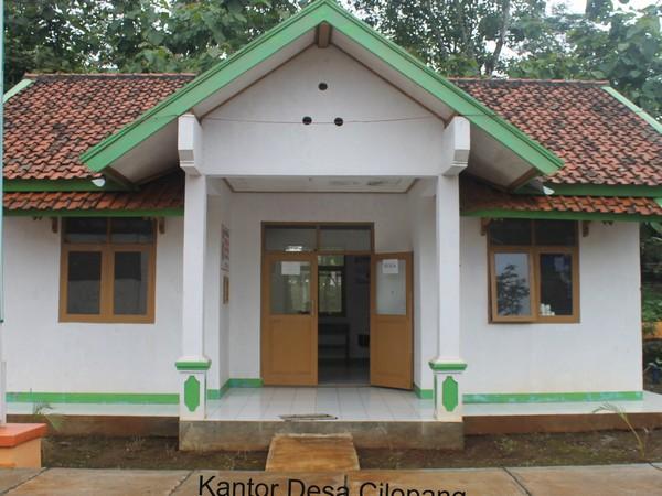 Kantor Desa Cilopang (foto: KKNM Unpad Cilopang)