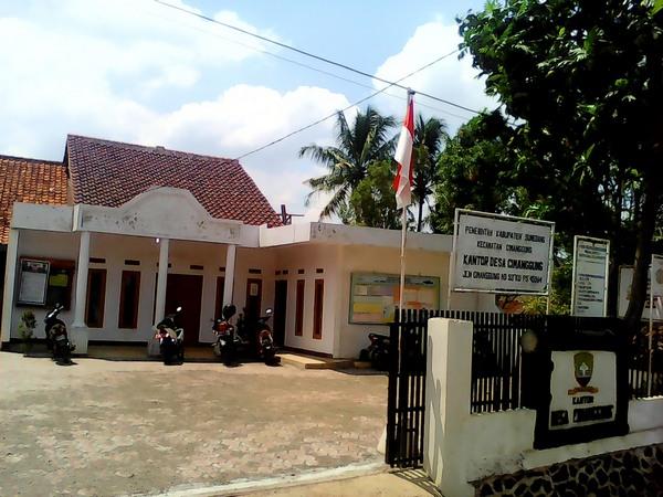 Kantor Desa Cimanggung (foto: Des Cimanggung)