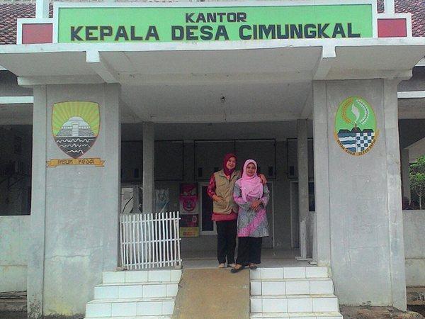 Kantor Desa Cimungkal (foto: facebook Nurul Wanda)