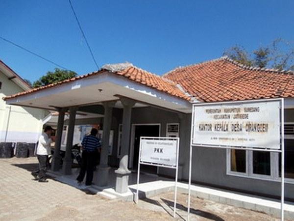 Kantor Desa Ciranggem (foto: Budaya)