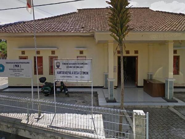 Kantor Desa Citimun (foto: Google Street View)