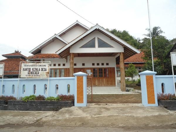Kantor Kepala Desa Gendereh (foto oleh KKNM unpad 2012)