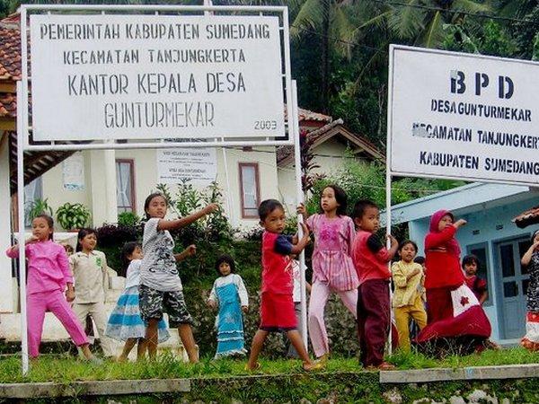 Kantor Desa Gunturmekar (foto: facebook KKNM Unpad)