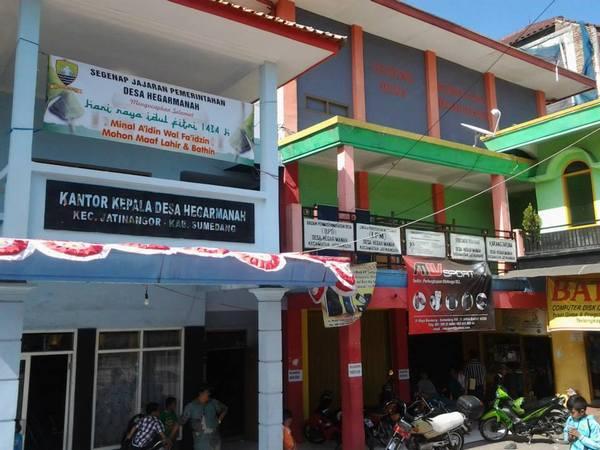 Kantor Desa Hegarmanah (foto: facebook Desa Hegarmanah)