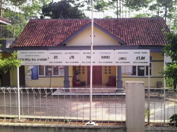 Kantor Desa Jayamandiri (foto: nadismanapp.blogspot.co.id)