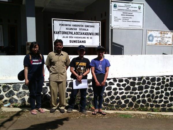 Kantor Desa Kaduwulung (foto: KKNM Unpad)
