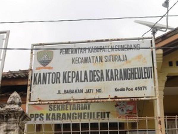 Kantor Desa Karangheuleut (foto: KKNM Unpad Karangheuleut)