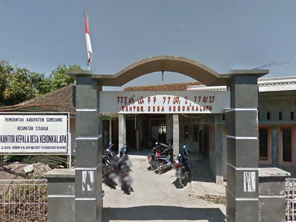 Kantor Desa Kebonkalapa (foto: Google Street View)