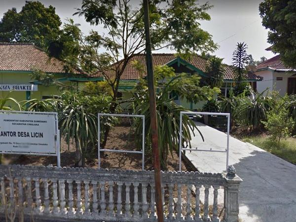 Kantor Desa Licin (foto: Google Street View)