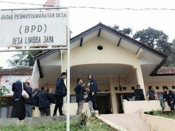 Kantor Desa Linggajaya (foto: KKNM Unpad)