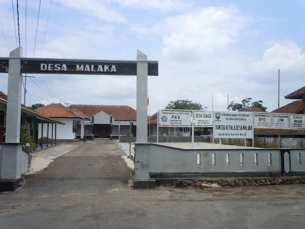 Kantor Desa Malaka (foto: Desa Malaka)