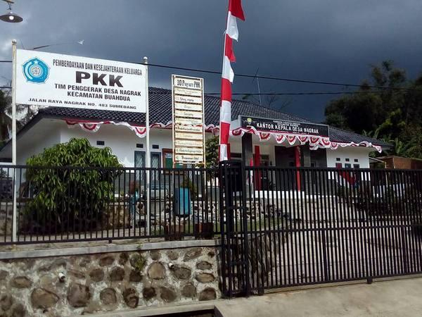 Kantor Desa Nagrak (foto: facebook Negrak Desa Nagrak)
