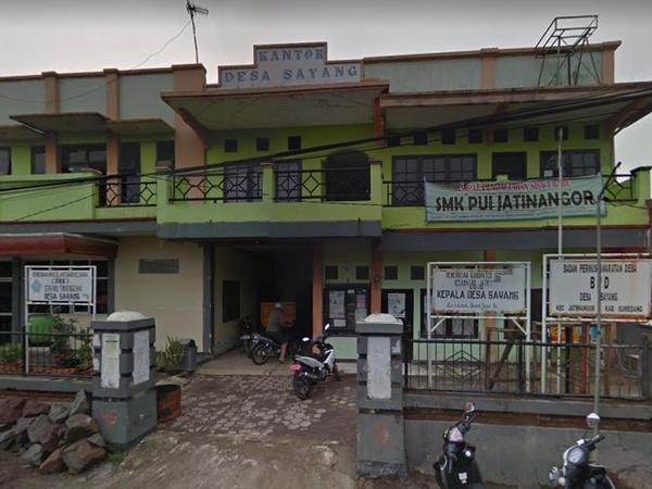 Kantor Desa Sayang (foto: Google Street View)