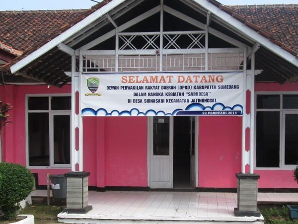 Kantor Desa Sirnasari (foto: g+ Desa Sirnasari Jatinunggal)