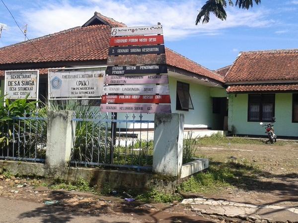 Kantor Desa Situmekar (foto: KKNM Unpad)