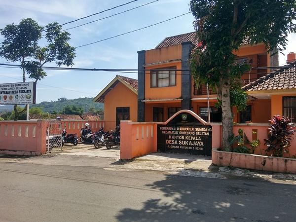 Kantor Desa Sukajaya (foto: g+ daniel chaniago)