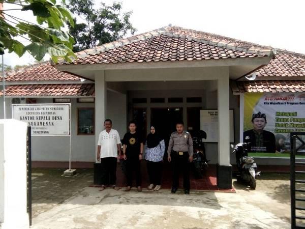 Kantor Desa Sukamenak (foto: facebook Desa Sukamenak)