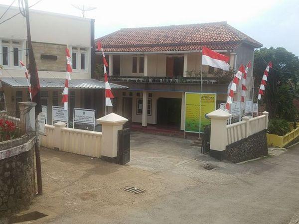 Kantor Desa Sukarapih (foto: facebook Keysuk Kim)