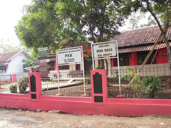 Kantor Desa Sukaratu (foto: Wikimapia)